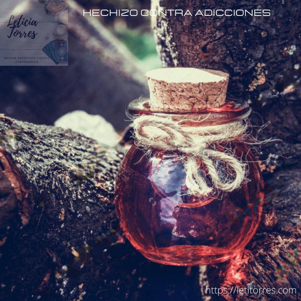 Hechizo contra adicciones